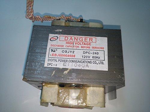 Lg EBJ60664607 Transformer Genuine Original Equipment Manufacturer (OEM) Part