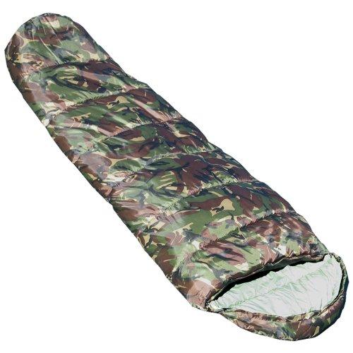 HIGHLANDER Cadet 350 Sacos de Dormir, Unisex, Camuflaje, 230x80x55cm