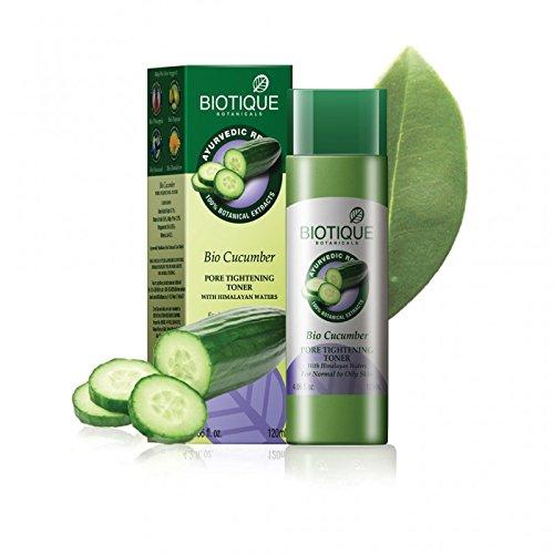 Biotique Bio Cucumber Pore Tightening Toner, 120ml (Pack of 2)