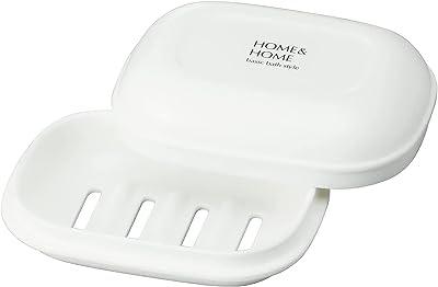 リス石鹸置き石鹸箱H&Hホワイト『防カビ加工』日本製