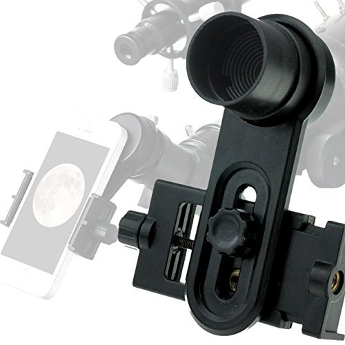 Solomark 1.25inch Universal Smartphone Eyepiece Adapter - 10mm Kellner Eyepiece Design