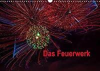 Das Feuerwerk (Wandkalender 2022 DIN A3 quer): Lichtmalerei (Monatskalender, 14 Seiten )