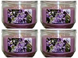 Mainstays 11.5oz Scented Candle, Lilac Breeze 4-Pack