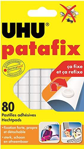 UHU Patafix - 80x Almohadillas de color blanco