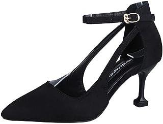 f1e0856a2f43 VICGREY Scarpe Donna Eleganti Scarpe da Sposa Ragazza Tacco Alto Elegante  Sandali Estivi Donne Con Tacco