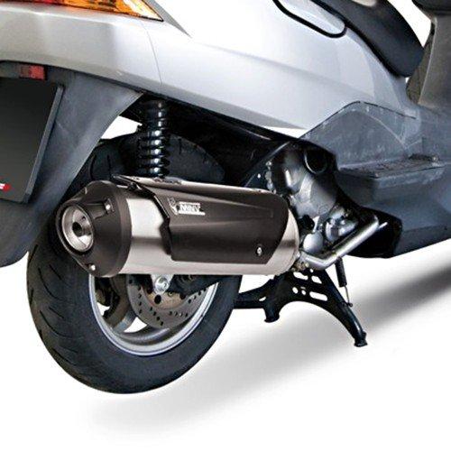 Tubo de Escape Mivv Urban Suzuki Burgman 125 02-06 Sistema Completo