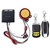 <span class='highlight'><span class='highlight'>WINOMO</span></span> Motorcycle Alarm System Anti Theft Security System with Double Remote Control 12v Universal