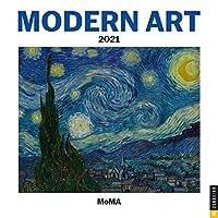 Modern Art 2021 Mini Wall Calendar