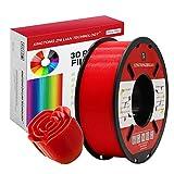 PLA Rojo Filamento de Impresión 3D 1.75mm...