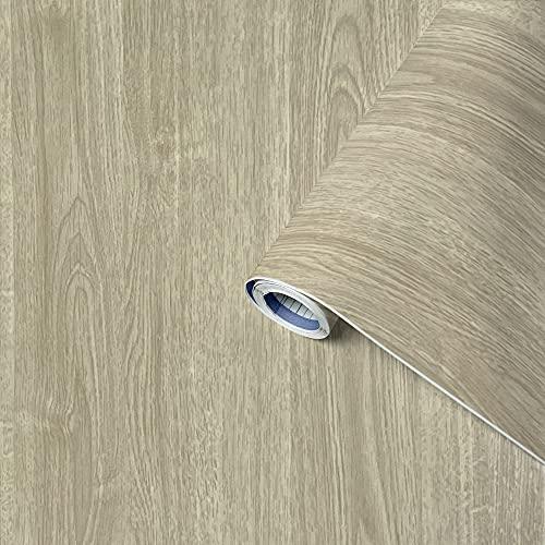Venilia 53328 Perfect Fix - Película Adhesiva Ligera de Roble, Muebles, Papel Pintado, Aspecto Natural de Madera, PVC 45 cm x 2 m, Espesor: 0,15 mm