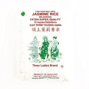Three Ladies Jasmine Rice  1 Item Per Order not per case