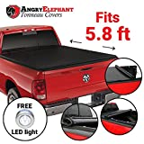 Angry Elephant Premium Roll-Up Tonneau Truck Bed Cover by - 2009-2014 Dodge Ram 1500 5.8 Ft Bed (69.6 Inch) (Without Ram Box)