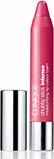 Clinique Chubby Stick Intense Moisturizing Lip Colour Balm, Heftiest Hibiscus, 0.1 Ounce