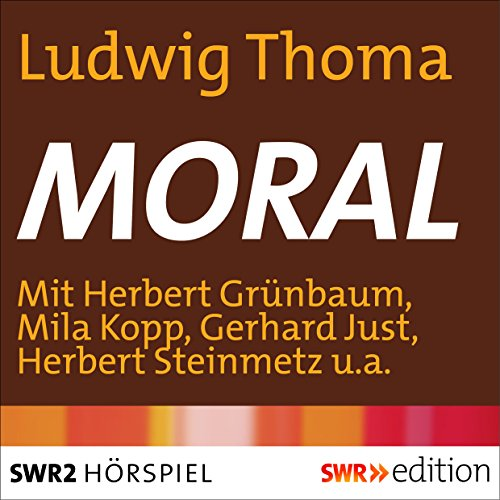 Moral audiobook cover art