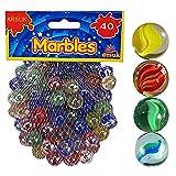 ARSUK Glasmurmeln, Spielzeug, Deko Kugeln Durchsichtig Klare Glasmurmeln, Dekoration Glaskügelchen...