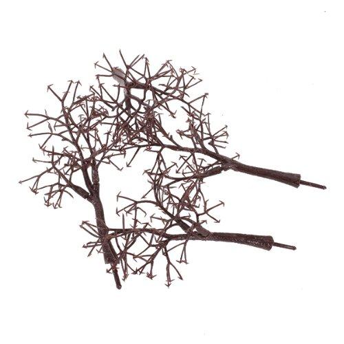 Gazechimp 10pcs 12 cm Tronc d'arbre Nu DIY Jouet Paysage Maquette Layon Dollhouse