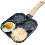 Best Egg Pans - Egg Frying Pan Nonstick Pancake Pans 4-Cups cookware Review