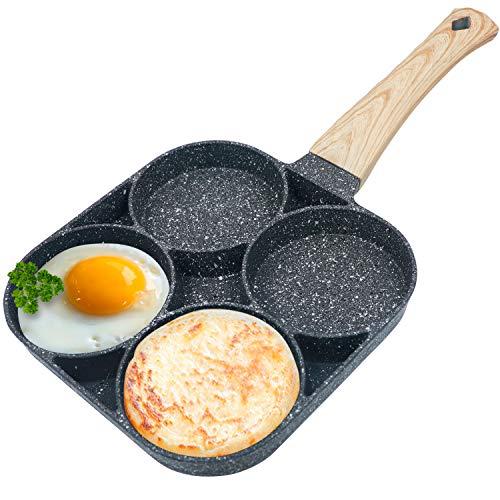 Egg Frying Pan Nonstick Pancake Pans 4-Cups cookware Pancake