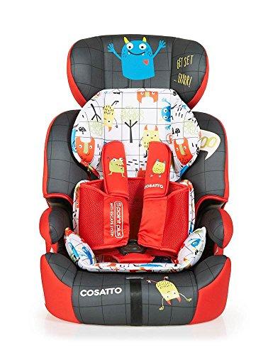 Cosatto Zoomi Kindersitz Gruppe 123Autositz, Monster Mob