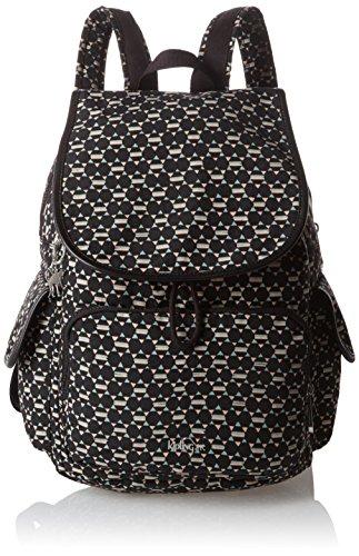 Kipling - City Pack, Mochilas Mujer, Mehrfarbig (Soft Geo), One Size