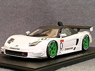 2003 Acura Honda NSX JGTC Test Car diecast model car 1:18 scale die cast by AUTOart - White 80396