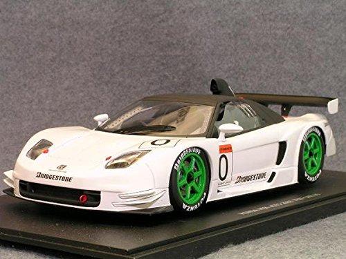 2003 Acura Honda NSX JGTC Test Car diecast model car 1:18 scale die cast by AUTOart - White 80396