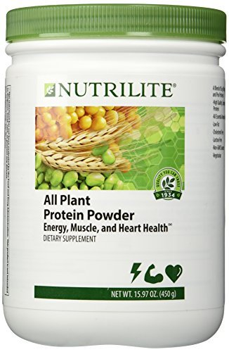 Nutrilite All Plant Protein Powder NET Weight: 450 G. By Amway by USA