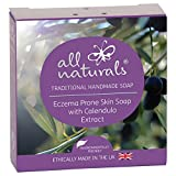 All Naturals, Eczema Olive Oil Soap & Body Wash with Jojoba, Moisturising Shea Butter and Soothing Calendula, 100g