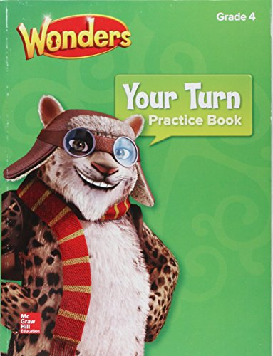Wonders Your Turn Practice Book Grade 4 Elementary Core Reading