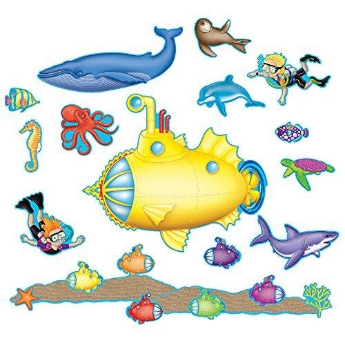 Teacher Created Resources Under The Sea Bulletin Board (5151)