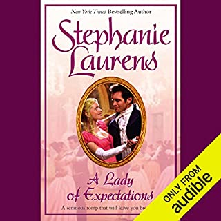 A Lady of Expectations audiobook cover art