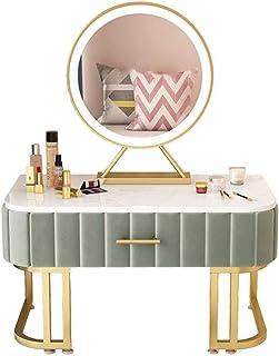 Armoires avec miroir Maquillage Coiffeuse Coiffeuse Coiffeuses Table Moderne Salon Plancher Baie vitrée Tatami Coiffeuse C...