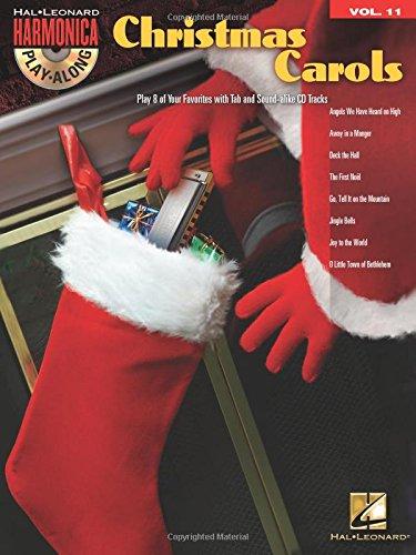 Christmas Carols: Harmonica Play-Along Volume 11
