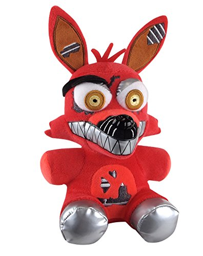 Funko Five Nights at Freddy's Nightmare Foxy Plush, 6'
