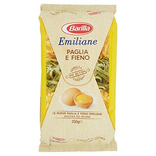 Barilla Pasta all'Uovo Le Emiliane Paglia e Fieno, 250 g