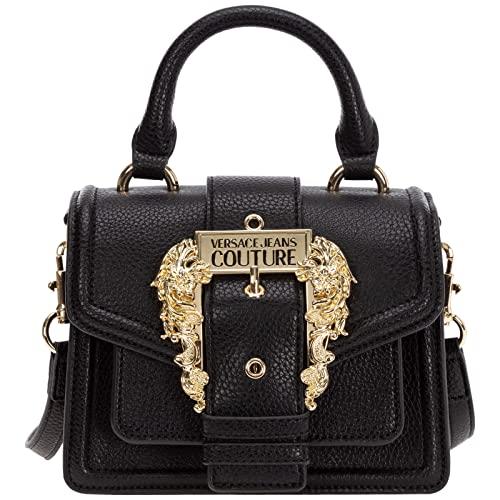 Versace Jeans Couture Versace Jeans Couture Handbag In Black Eco-leather Black