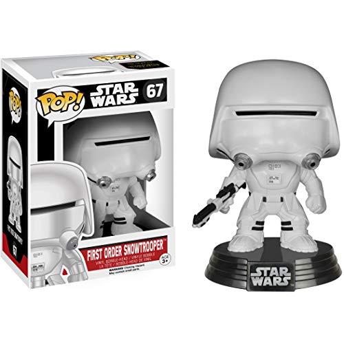 First Order Snowtrooper: Fun ko Pop! Figura de vinilo y 1 paquete protector...
