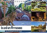 In und um Pirmasens (Tischkalender 2022 DIN A5 quer): Ein Streifzug durch die Stadt und die Umgebung (Monatskalender, 14 Seiten )