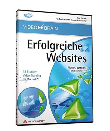 Erfolgreiche Websites (PC+MAC-DVD)