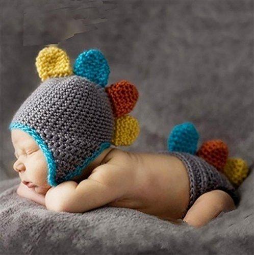 PEPEL Bébé Photographie Les Accessoires Fait Main Crochet Tricot Bébé Unisexe Vêtements Enfants Cartoon