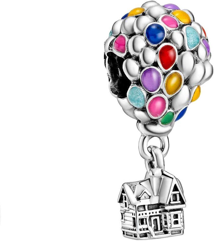 Pandora,charm,pendente casa e palloncini,in argento 925 798962C01