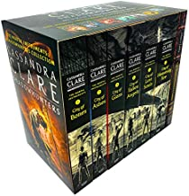 Cassandra Clare The Mortal Instruments A Shadowhunters 7 Books Collection Set (Bones, Ashes, Glass, Fallen Angels, Lost Souls, Heavenly Fire + The Shadowhunter's Codex)