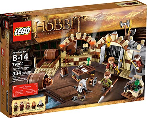Lego Exclusive Hobbit Set #79004 Barrel Escape (japan import)