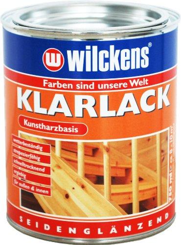 Wilckens Klarlack seidenglänzend 750ml SKEM 0000