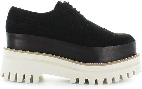 Chaussures Femme Paloma Barceló Barceló Chaussure à Lacets Noir  magasin en ligne