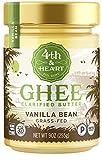 4th & Heart Grass-Fed Ghee Butter, Vanilla Bean, 9 Ounce