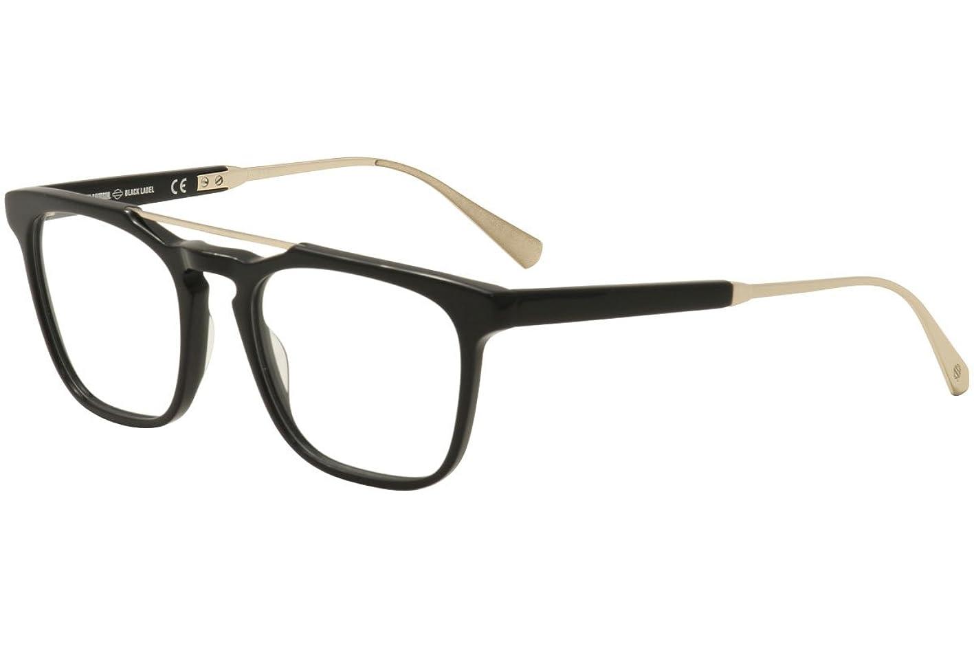 Harley-Davidson Black Label Eyeglasses HD1025 1025 001 Black Optical Frame 52mm icebjbkxpxv993