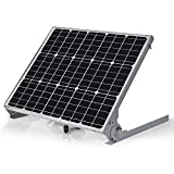 SUNER POWER 12V Waterproof Solar Battery Trickle Charger & Maintainer - 50 Watts Solar Panel Built-in Intelligent MPPT Solar...