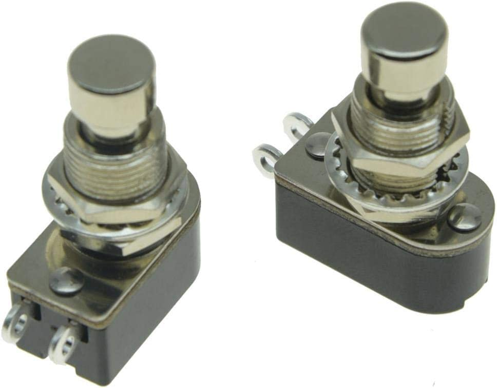 Dopro Pack of overseas 2 SPST 2-Pin Button Momentary Push Soft Cash special price Elec Touch