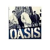 GHJH Oasis 27 Leinwand-Kunst-Poster und Wandkunstdruck,